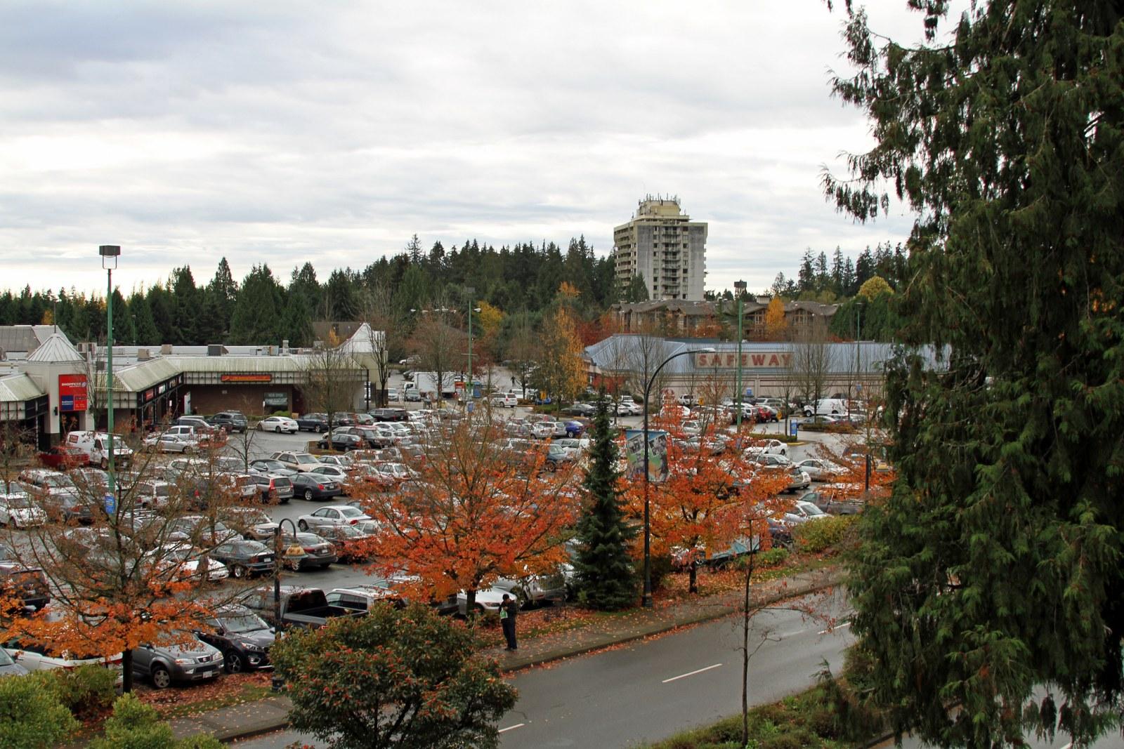 Across the Lynn Valley Shopping Centre
