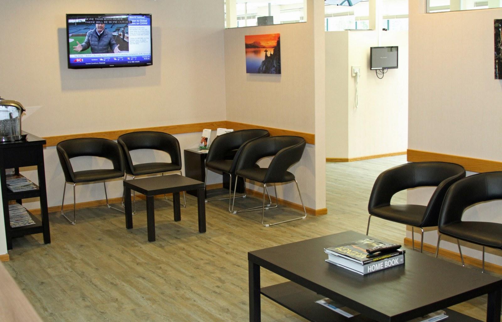 Waiting area dental